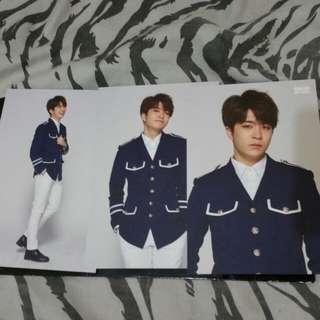 Amazing GOT7 World Youngjae Postcard