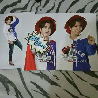 GOT7 FLY in Seoul Youngjae Concert Postcard