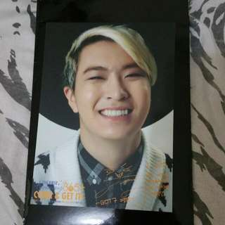 GOT7 Youngjae 365+ Come and Get It First Anniversary Postcard