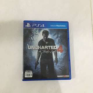 kaset ps4 uncharted A thiefs end