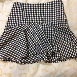 Designed A-line Skirt