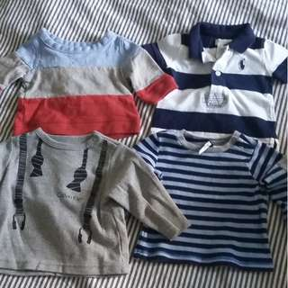 Baby boy brand shirts