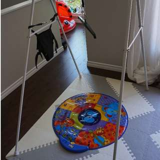 Jolly Jumper Baby Exerciser with Stand + Musical Playmat