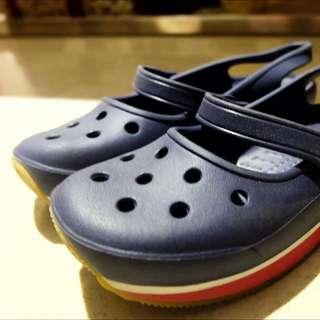 100% Original Crocs (Navy)