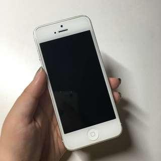 Iphone5 32G 銀色