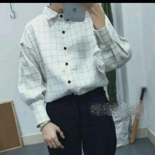 (全新)格子襯衫
