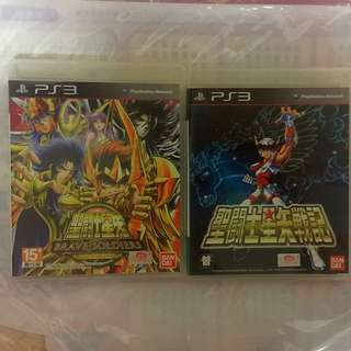 PS3 Games (聖鬥士星矢)both