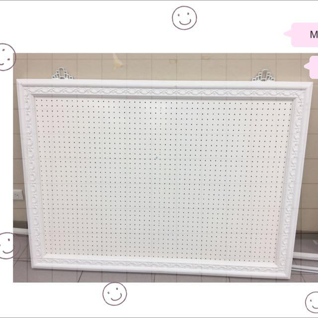 白色飾品吊板(2塊)
