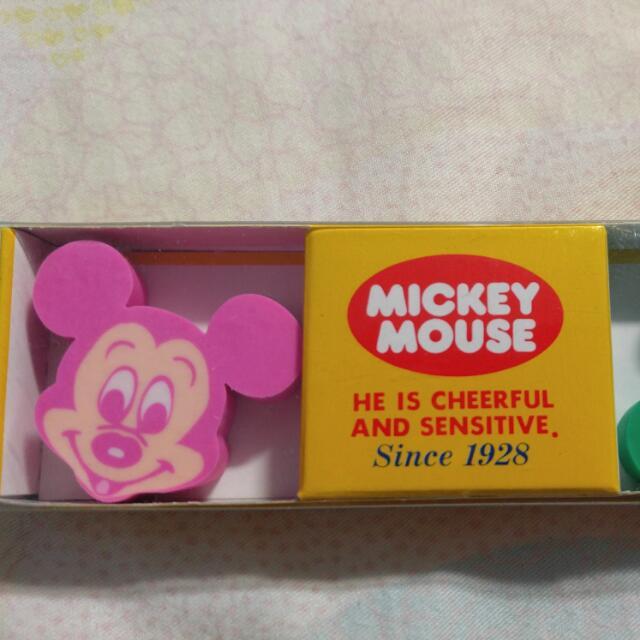 日版 Mickey Mouse 擦膠