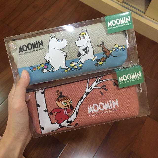 🔺全新🔺嚕嚕米 Moomin 筆袋
