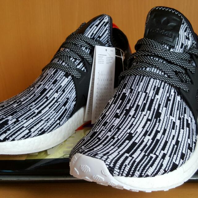 check out d676d be661 Adidas Nmd XR1 PK Textile Zebra Tags: Nbhd Supreme Undfted ...