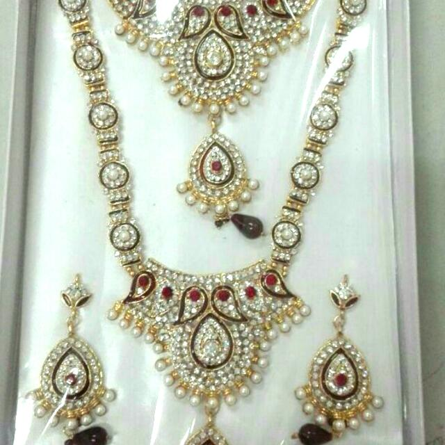 Alpaka India Neckace Satu Set