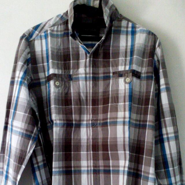 Ambrogio Plaid Shirt