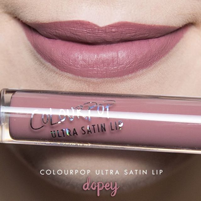 Authentic Coloupop Ultra Satin Lip Dopey