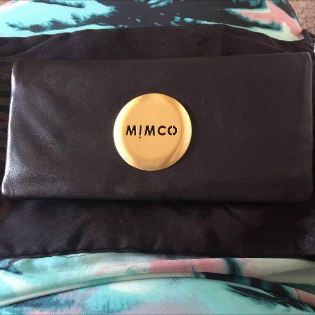 Black & Gold Mimco Purse