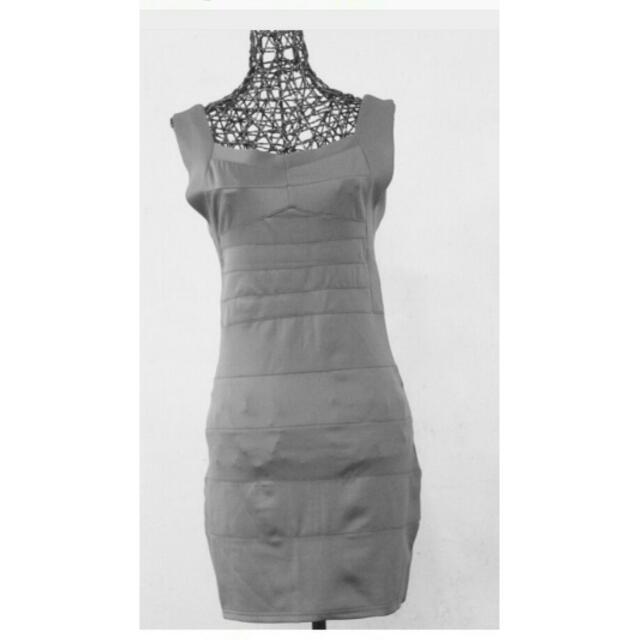 BNWT Grey Bandage Dress Xs-small