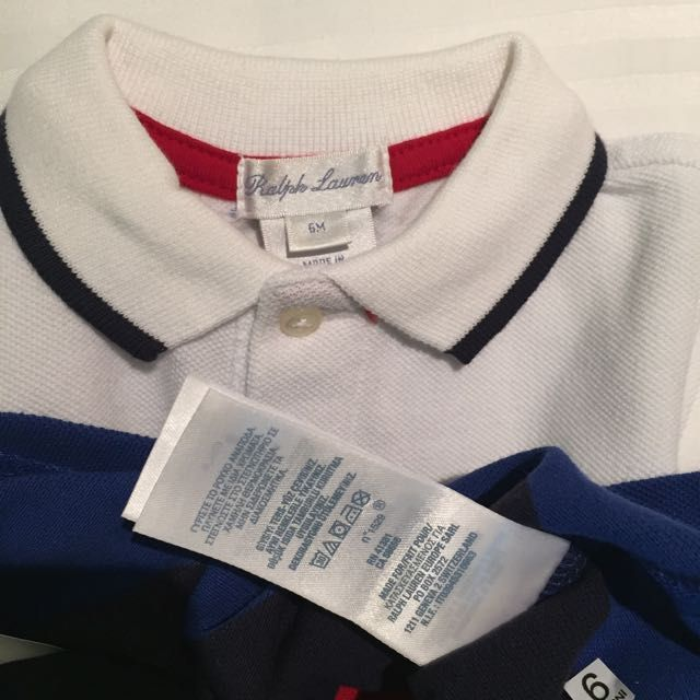 8ac6275c BNWT Polo Ralph Lauren Polo T-Shirt for Babies (Size: 6 Months) - Authentic