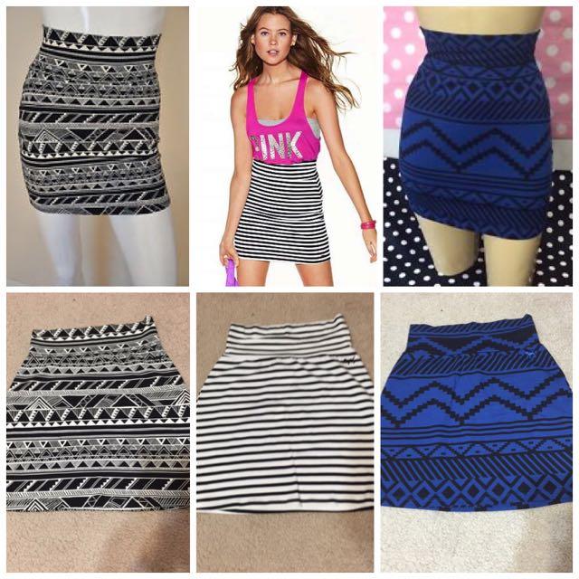 Brand New Victoria's Secret Skirts
