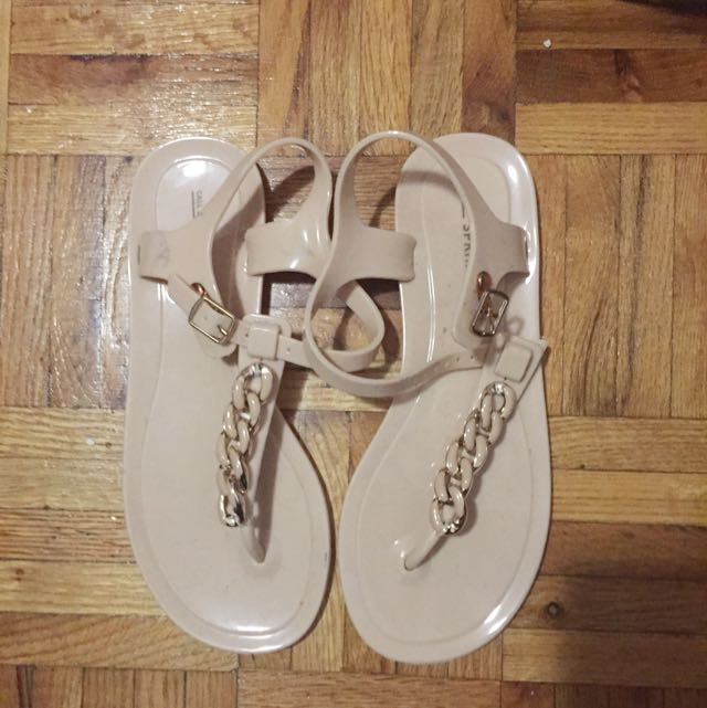 Call It Spring Nude Sandals