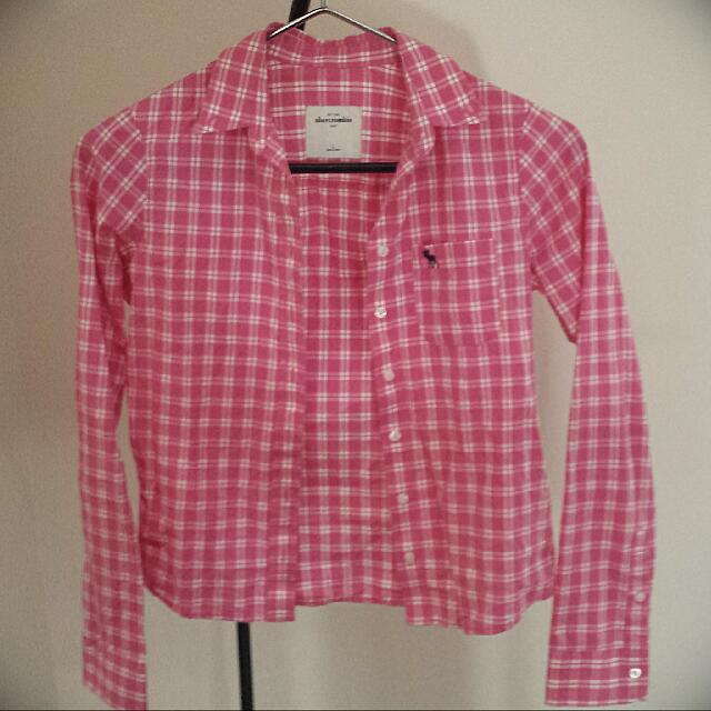 Checkered Pink Long Sleeve