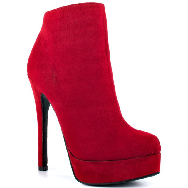 Chinese Laundry Red Suede Pumps