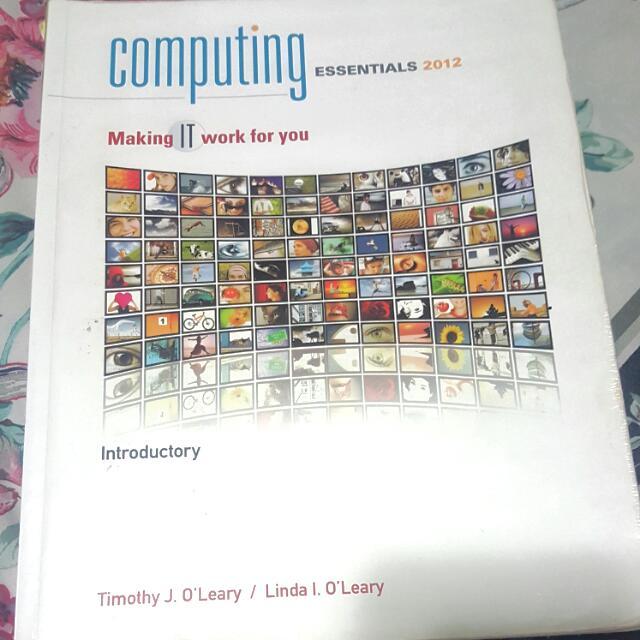 Computing Essentials 2012