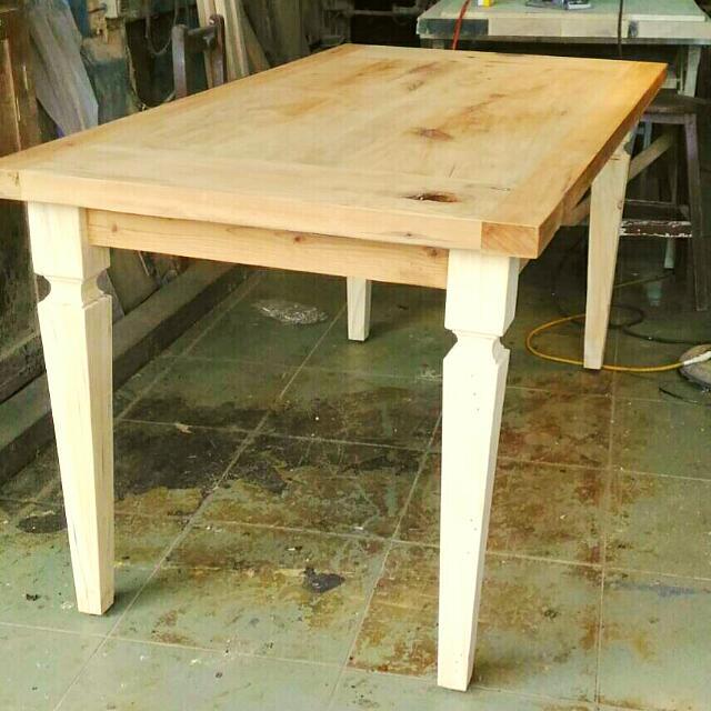 Eagles.Studio 工廠直營,手工原木餐桌 歐式/美式 鄉村風  IKEA/ Zakka 可參考
