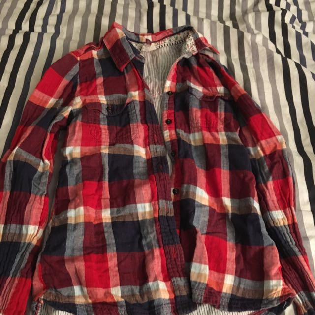 Element Plaid Top