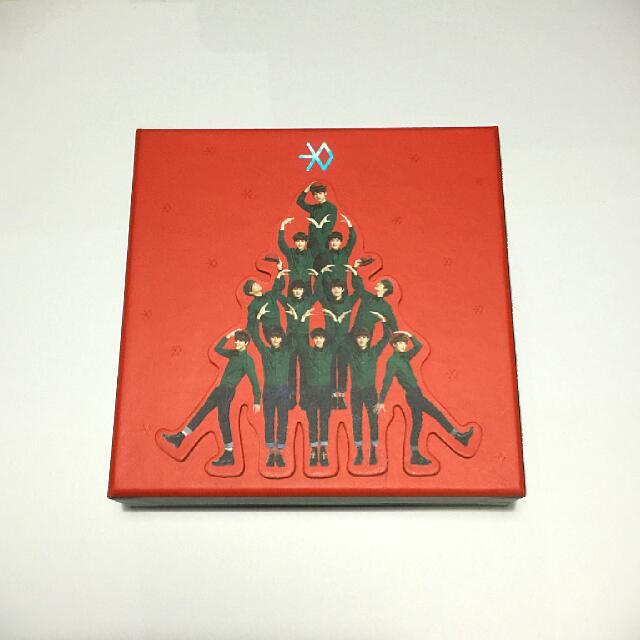 EXO Miracles in December Album (K Ver.)