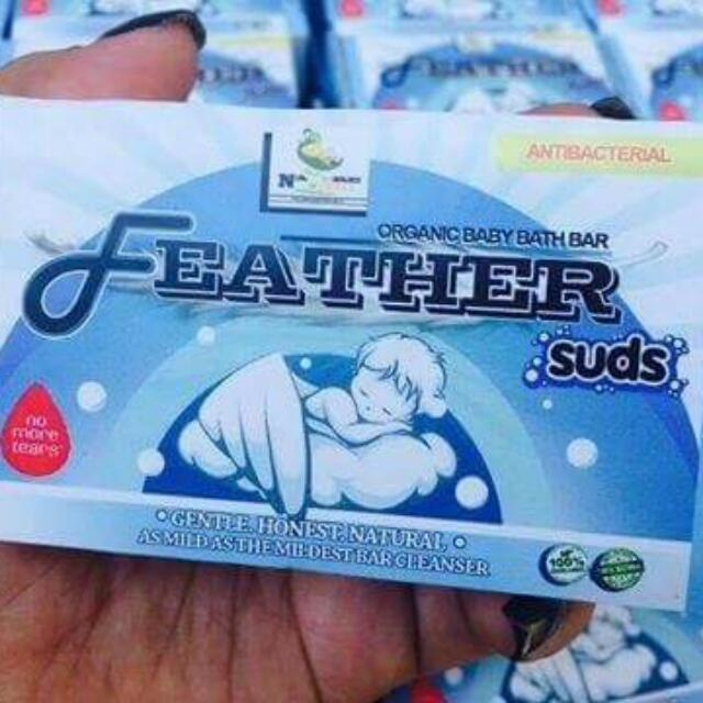 Feather Suds Soap
