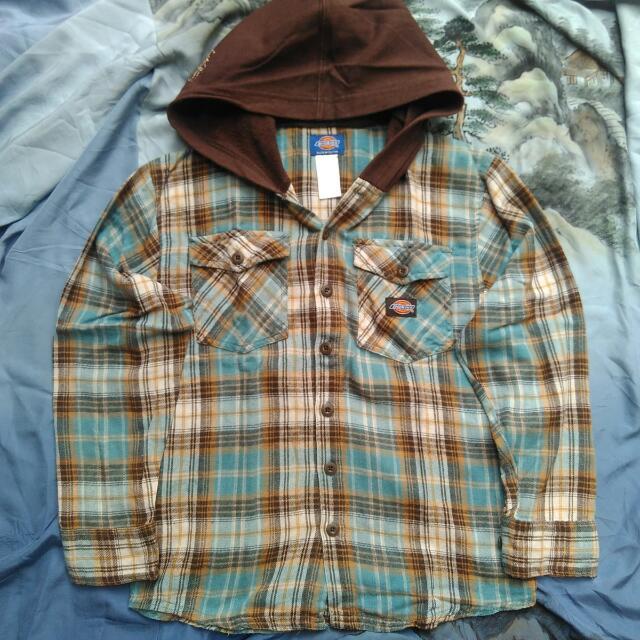 Flannel Hoodie Dickies Original
