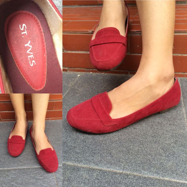 Flat Shoes (By   St. Yves) 1ac0a67ec0