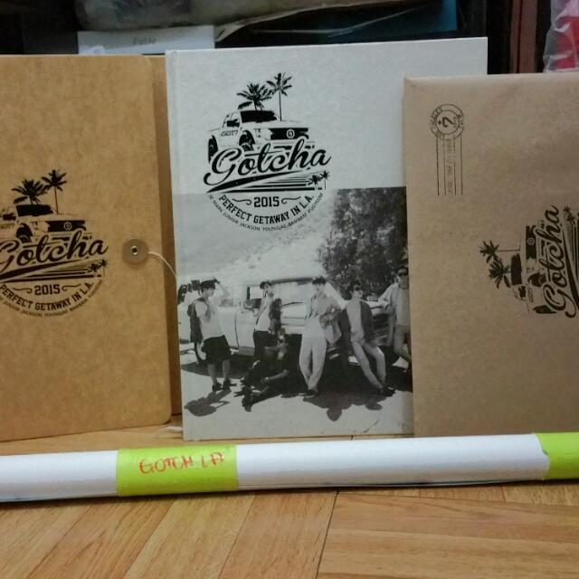 GOT7 2nd Photobook GOTCHA in LA