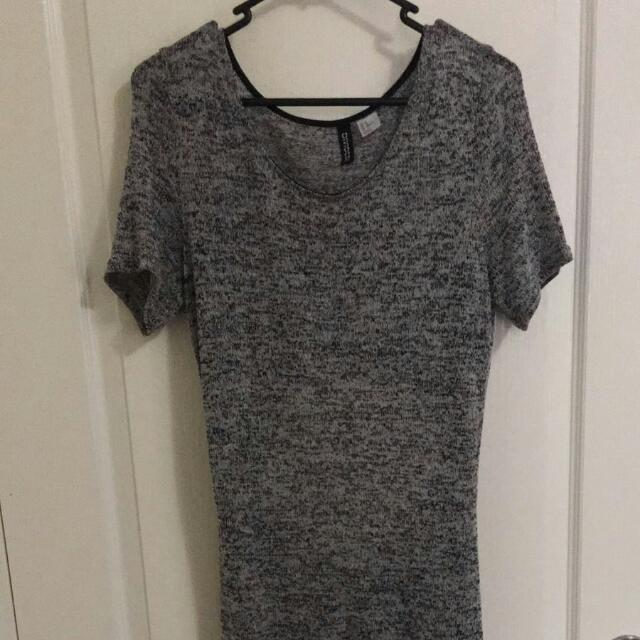 H N M Divided Maxi Dress