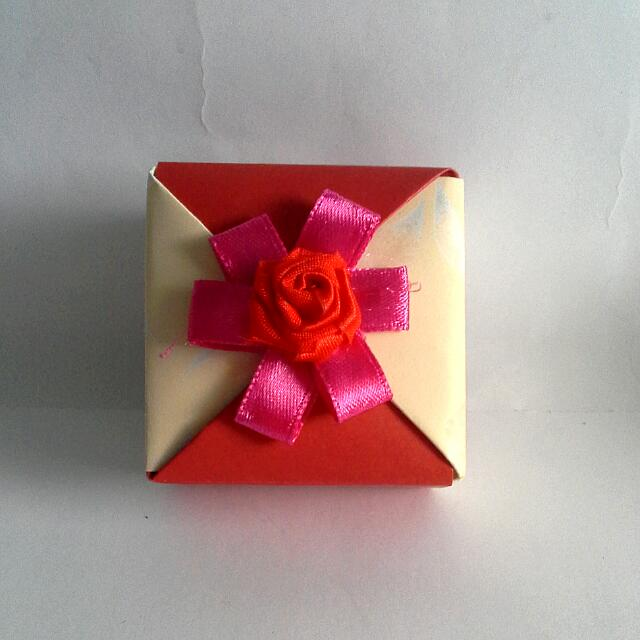 Handmade Gift Box Design Craft Handmade Craft On Carousell