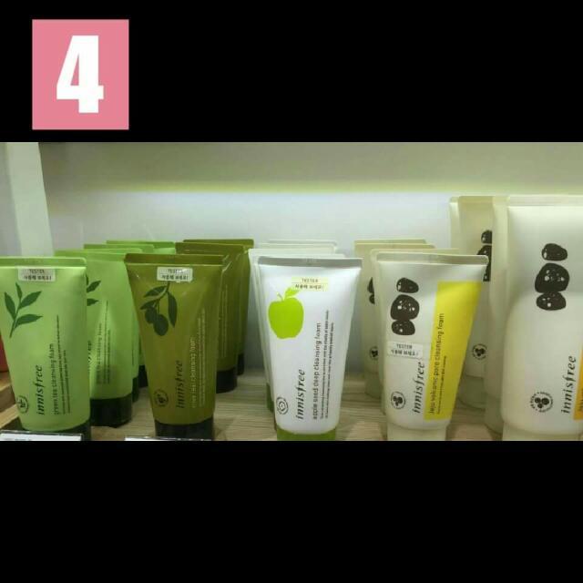 Innisfree Cleansing Foam Made In Korea