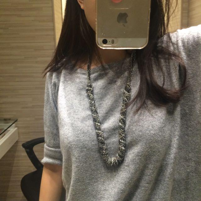 Kalung Fashion Cantik Silver