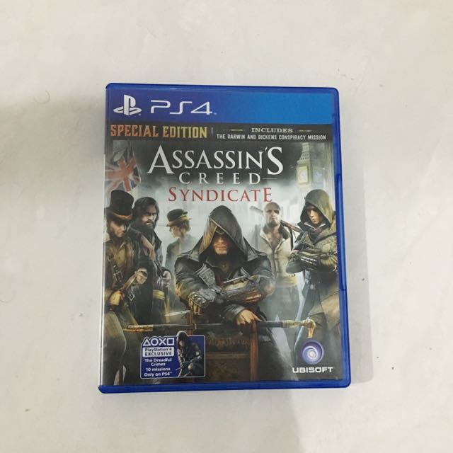 kaset ps 4 assasins creed syndicate