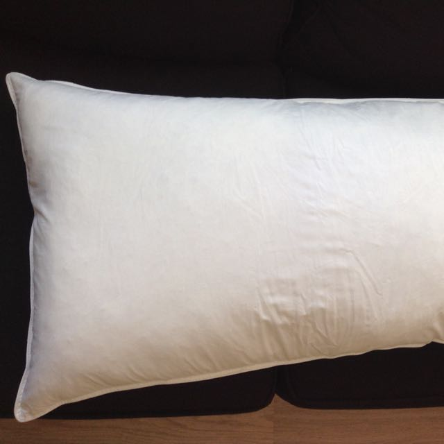 King size duck feather pillow