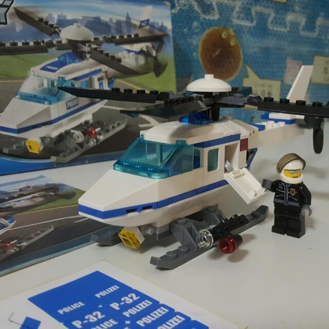lego city police helicopter set 7741 helicopter and