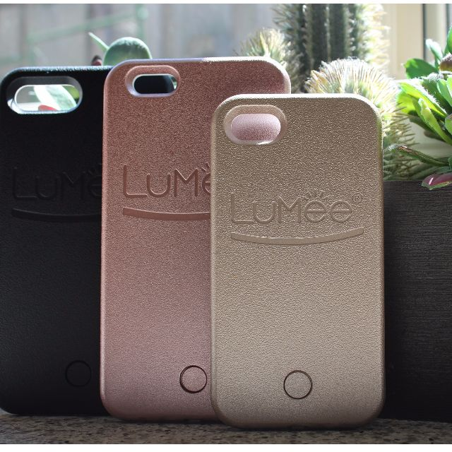 Lumee - iPhone 7 / 7 Plus Available in Black, Gold and Rose Gold!!!