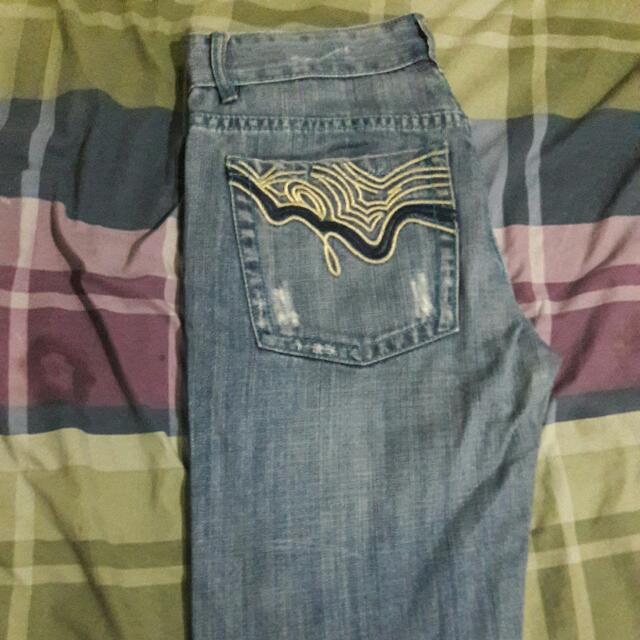 Men's Straight Leg Denim Jeans