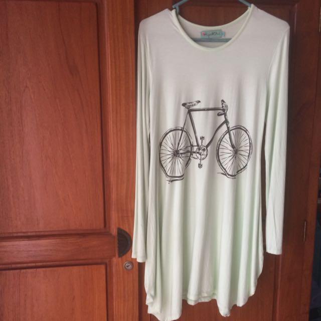 Hijab Chic Midi Long Shirt Dress