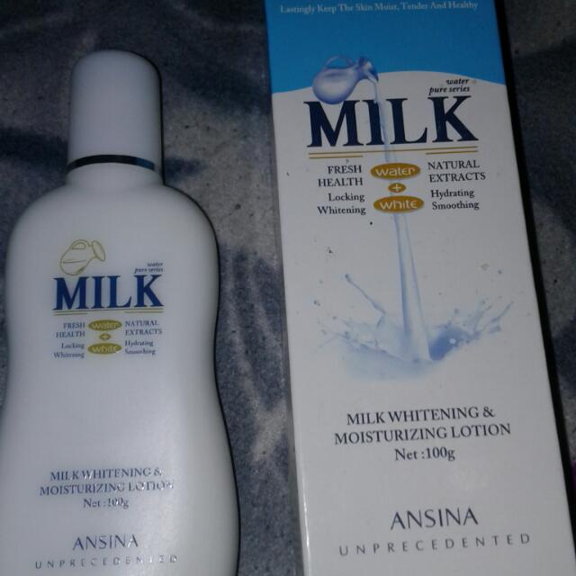 Milk Lotion