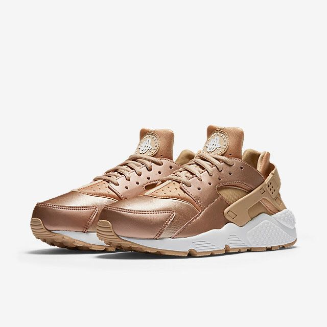 brand new 6ac9c 6e92f ... sweden nike air huarache se women metallic red bronze summit white elm  womens fashion shoes on