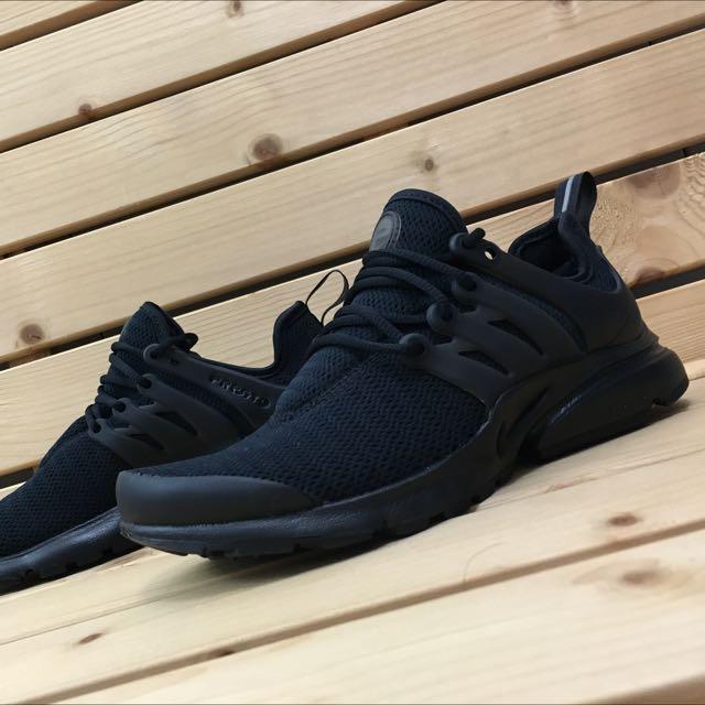 Nike Air Presto 全黑魚骨