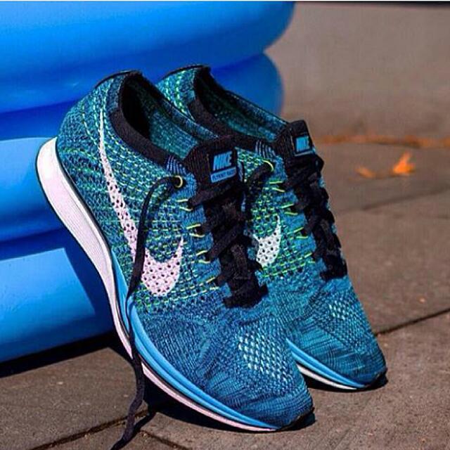 Nike Flyknit Racer Blue Cactus