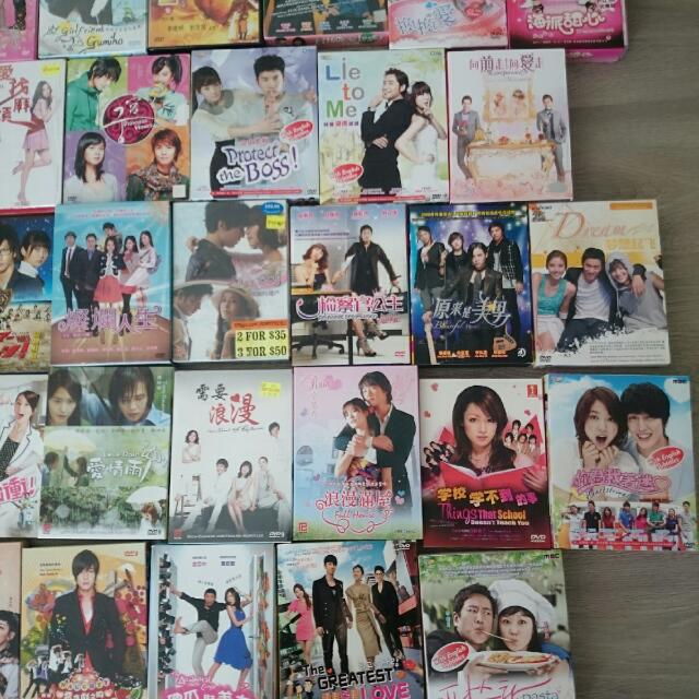 Original Korean,  Japan And Taiwan TV Series With English Subs.  All Must Go!!!