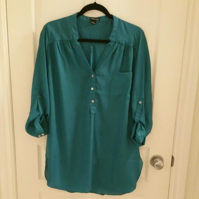Oversized Silk Blouse/Dress