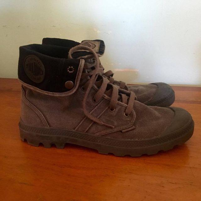 Palladium Men's Boots Baggy Grey US 11